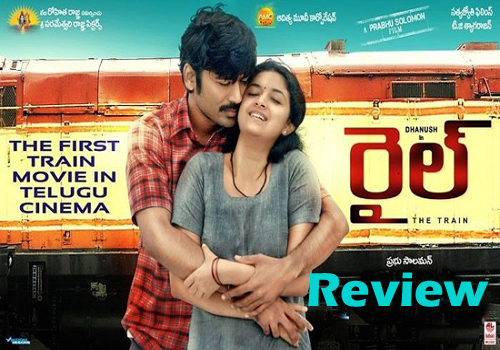 dhanush rail movie review