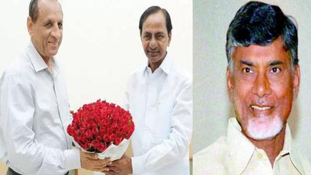 kcr send governor to ask chandrababu hyderabad secretariat issue