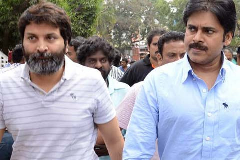 pawan kalyan trivikram political background movie