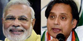 congress leader shashi tharoor said about modi