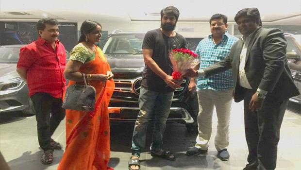 naga shourya buys a new benz car