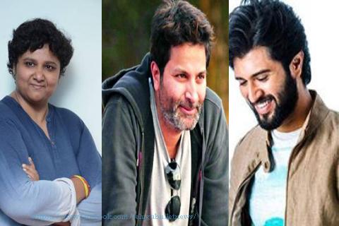 vijay devarakonda director nandini reddy movie trivikram  producer