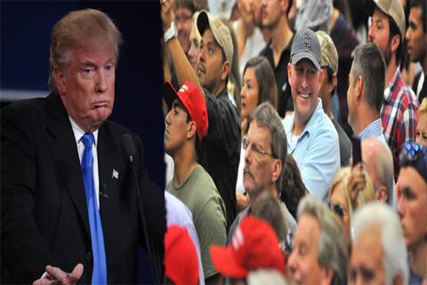 trump speech american people laughing at debate