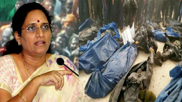 vasireddy padma demand enquiry on malkangiri maoists encounter