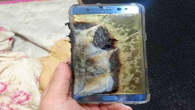 only 60 percent chanrging to galaxy note7
