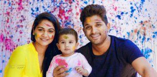 allu arjun blessed a baby girl
