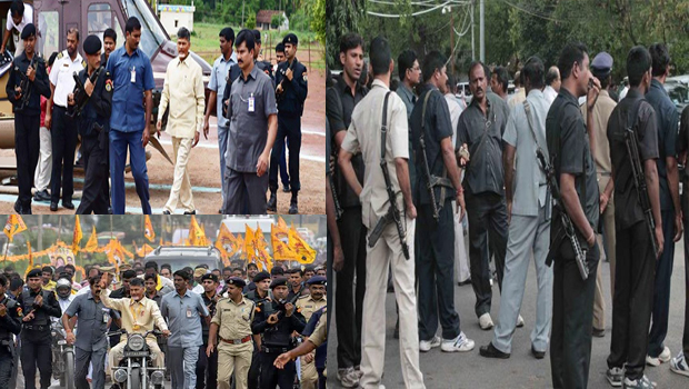 full security to cm chandrababu because of maoists