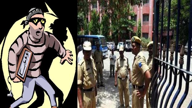 thief wants to steal files in gagan vihar cbi court