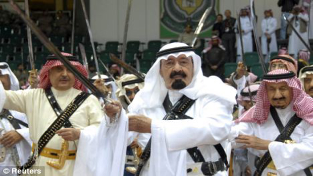many soudi kings and their cruel punishments