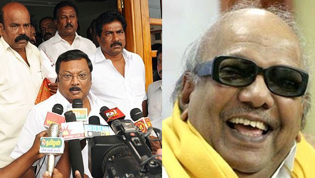 alagiri said karunanidhi always cm in my self