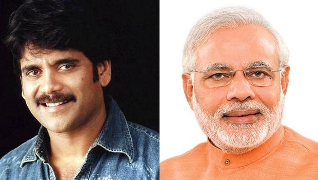 nagarjuna tweet in twitter about taxpayers modi was retweet on this post