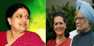 sasikala like as sonia gandhi in tamil nadu politics