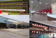 international terminal building in gannavaram airport