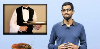 otel waiter teaches to google ceo sundar pichai