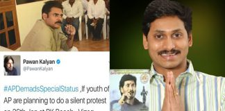 andhra pradesh youth meeting for special status pawan kalyan and jagan support