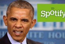spotify company job offer to obama