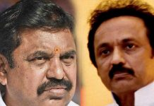 stalin says to palaniswamy don't laughing in front of me