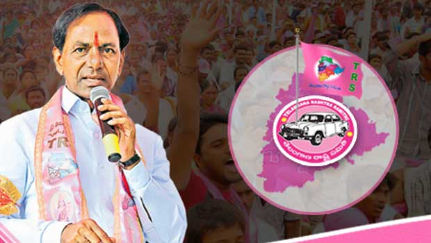 trs party immitating delhi congress views