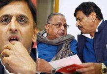 samajwadi party leaders are support to mulayam singh yadav for as samajwadi party president