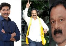 ysrcp party support to congress in balakrishna constituency ward elections