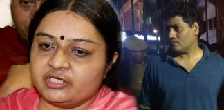 deepa jayakumar husband not supported to his wife in rk nagar by election