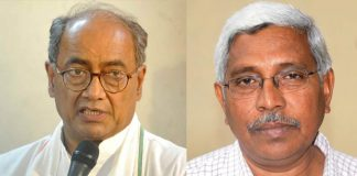 digvijay singh says about kodandaram