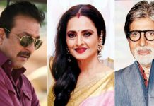 bollywood celebrities rekha and sanjay dutt was married?