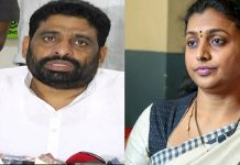 tdp mlc buddha venkanna fires on ysrcp mla roja at assembly media point