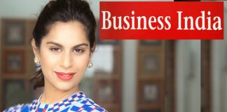 upasana in business india magazine cover page