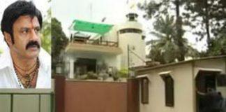 balakrishna home may be lose because of ghmc