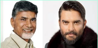 ysrcp websites scold to madhavan because he praise to cm chandrababu