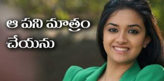 keerthi suresh rejects glamorous roles
