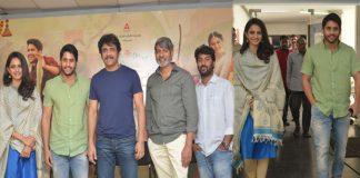Raarandoy Veduka chuddam Movie Press Meet