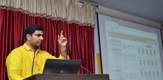 nara lokesh focus on social media
