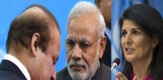 nikki haley says america solve india and pakistan kashmir issue