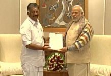 panneer selvam supports bjp in chennai