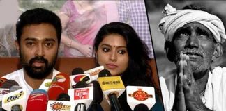 sneha and her husband donated money to krishna district farmers