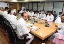kcr tensed about cabinet