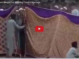 wedding Food Rush In Pakistan