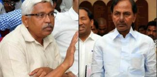 kodandaram fires on kcr about contracts