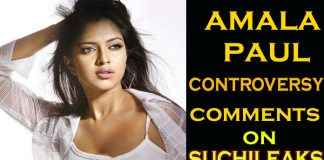Amala Paul controversy comments on Suchileaks