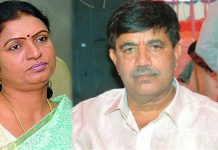Dk Aruna Husband Bharataha Simha Reddy Got Road Accident