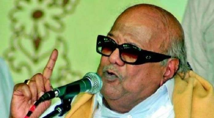 Karunanidhi -has -set- a -record -that- does- not- remove- it