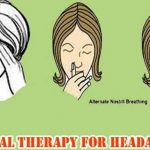 Natural Therapy For Headache..