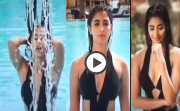 Pooja Hegde Bikini Video In Dj