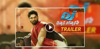 duvvada jagannadham theatrical trailer