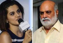 Tapsee apologies Raghavendra Rao