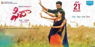 Varun Tej Fidaa movie Preview and Rating