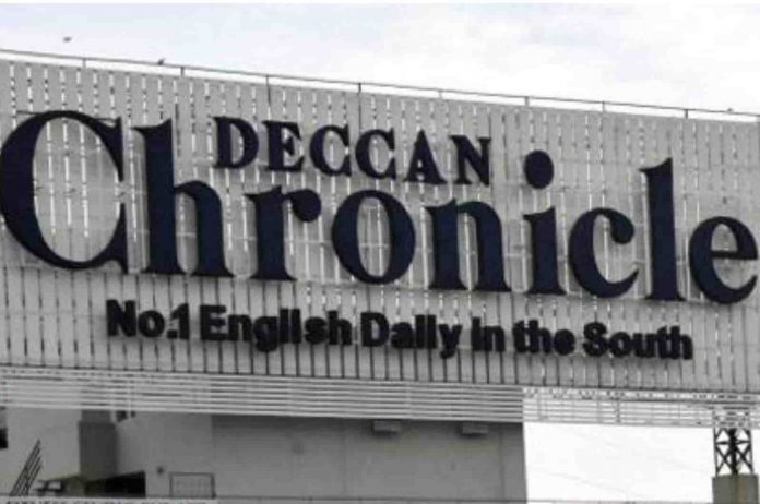 Deccan Chronicle not paying full salary to employees