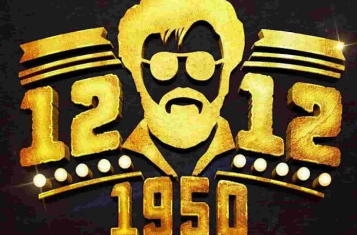Rajinikanth New Movie 12 12 1950 Motion Poster